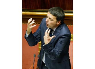 """Senato, la """"ghigliottina"""" rischia di segare Renzi"""