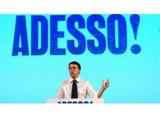 Renzi superstar fa traballare la legislatura