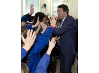 Scuola, Renzi ne dice una giusta. Poi la fa sbagliata