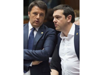 """Dopo il voto, il """"coro greco"""" sfida Renzi"""