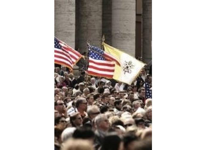 Cattolici americani in piazza San Pietro