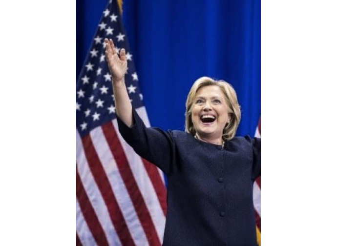 Hillary Clinton, candidata democratica alla Casa Bianca