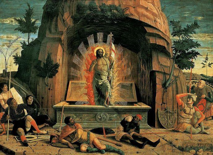 Resurrezione, Andrea Mantegna