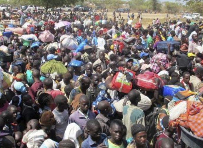 Rifugiati sud sudanesi in Uganda