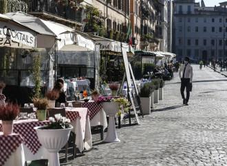 Pochi ristori per i ristoranti ridotti sul lastrico