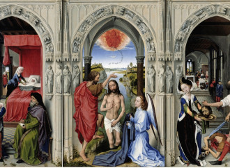Tre artisti mostrano la forza del martirio del Battista