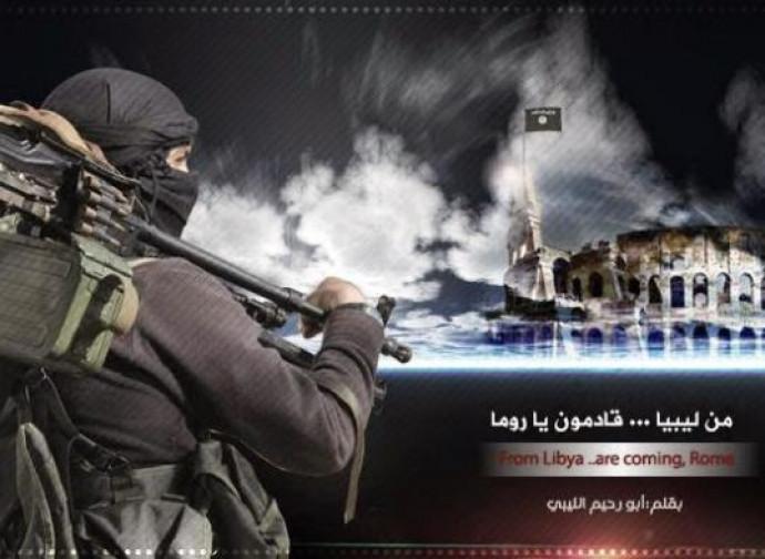 Propaganda dell'Isis per l'Italia