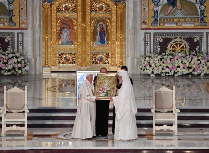 Papa Francesco e il patriarca Daniel di Romania