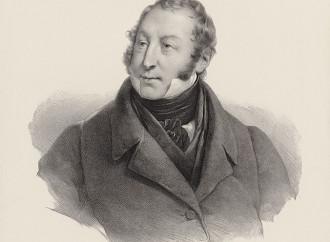 Gioacchino Rossini (disegno di Grevedon)
