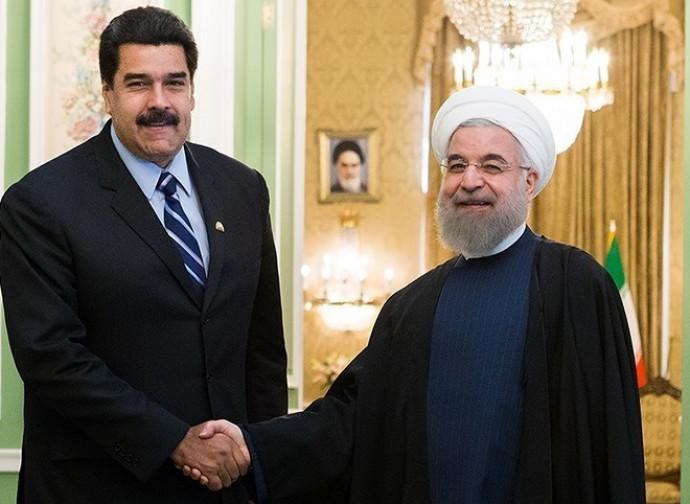 Maduro e Rouhani