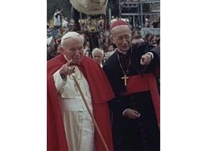 San Giovanni Paolo II e il cardinale Camillo Ruini