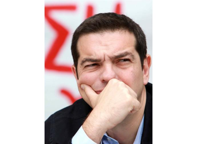 Il premier greco Tsipras