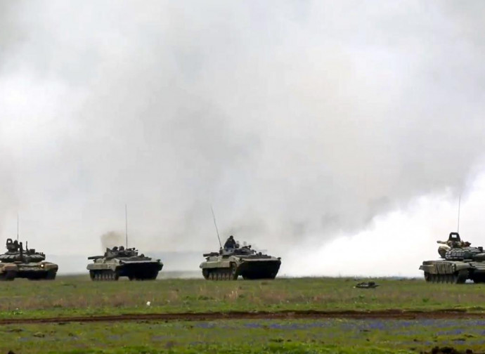 Manovre russe in Crimea