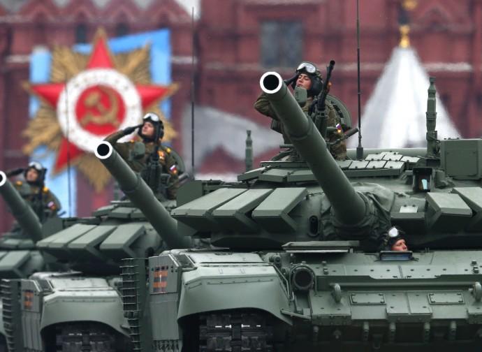 Russia, parata della vittoria