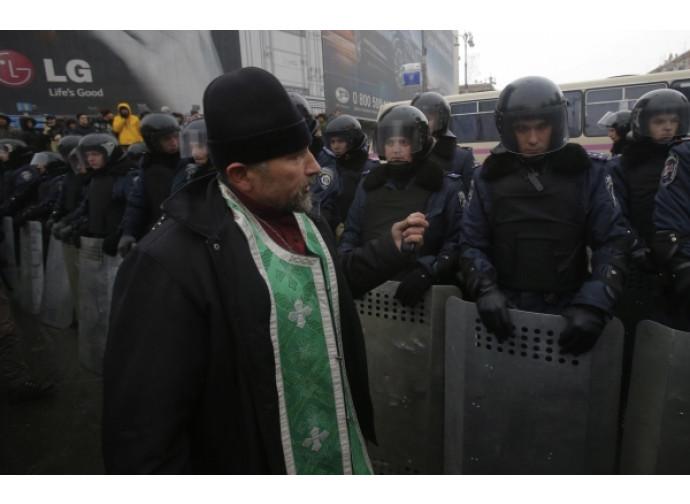 Manifestazione in Ucraina