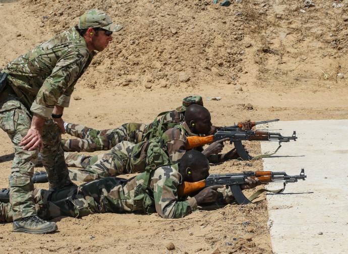 Militari americani dell'AfriCom addestrano forze anti-terrorismo in Niger