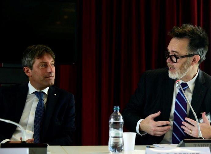 Rod Dreher nel suo incontro a Milano con il vicepresidente della Regione Sala