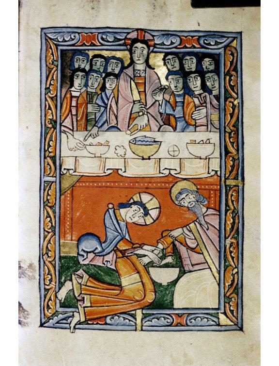 Bodleian Library, Salterio del XII secolo (part.)