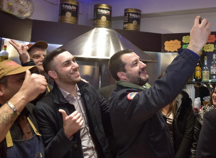 Matteo Salvini ad Afragola