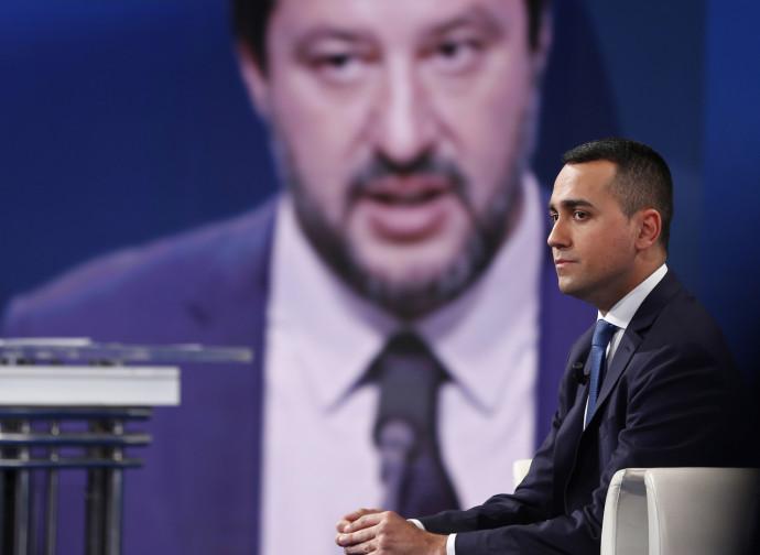 Di Maio a Porta a Porta (e Salvini incombe)