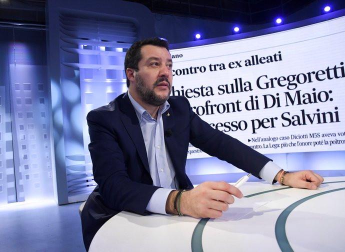 L'ex ministro Salvini