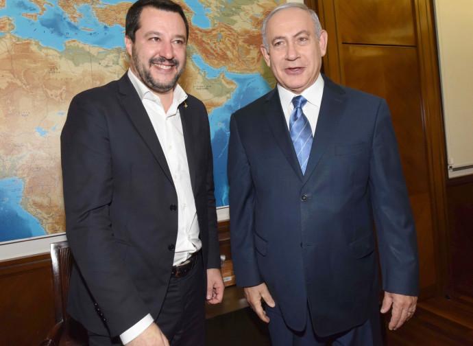 Salvini e Netanyahu