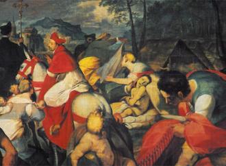 San Carlo visita gli appestati, l'Amore che nasce da Gesù