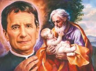 Incontro a san Giuseppe con don Bosco