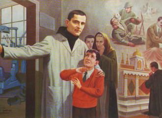 Riccardo Pampuri, un santo a Caporetto. Vero italiano