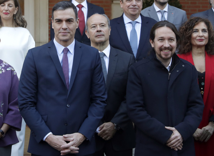 Il governo Sanchez