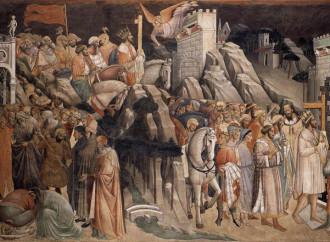 La storia della Vera Croce negli affreschi di Agnolo Gaddi