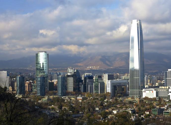 Santiago, grattacieli