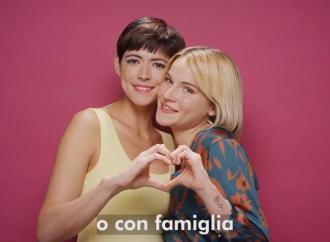 Per Sara Assicurazioni la famiglia è solo gay