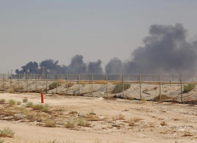 Arabia Saudita, i pozzi colpiti dai droni