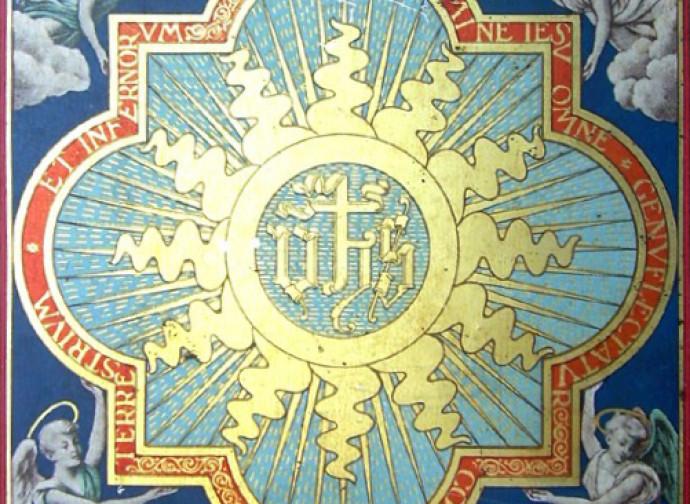 Santissimo Nome di Gesù, tavola di S. Bernardino da Siena