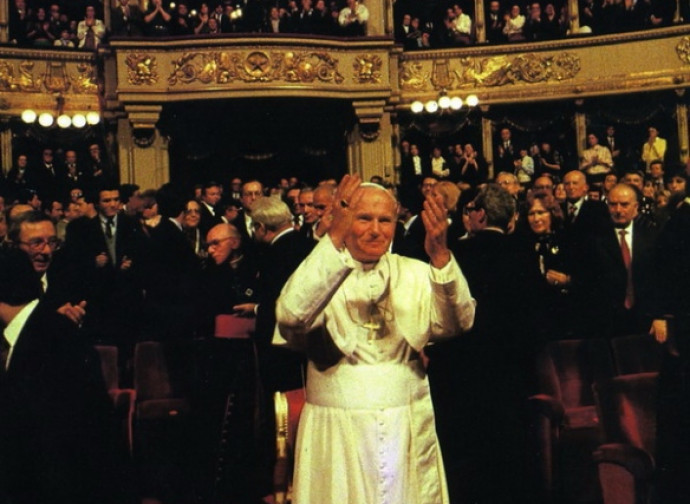 Giovanni Paolo II alla Scala