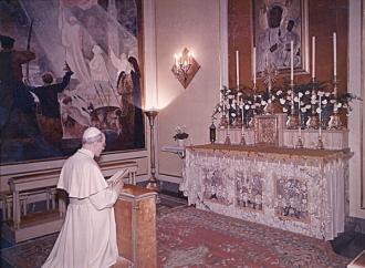Il papa che voleva salvare il mondo tramite la Madonna