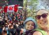 Canada: festa alla cannabis mentre una mamma muore