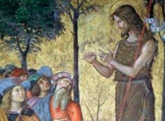 La cappella con il braccio di Giovanni Battista