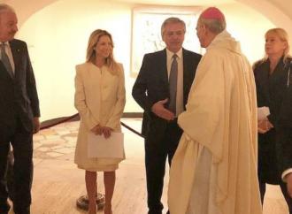 W Perón e il Papa: in Vaticano la Messa è comizio