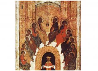 Un'icona per capire la Pentecoste