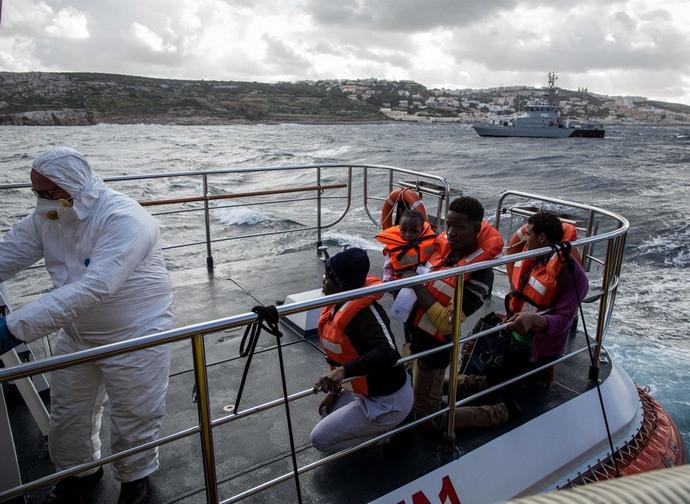 Il soccorso della Sea Watch