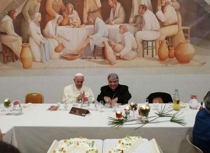 Semeraro con il Papa festeggia il suo 70mo compleanno