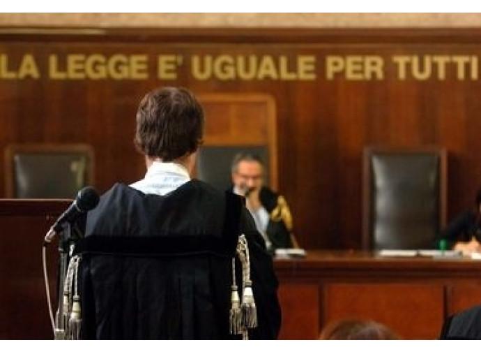 L'aula del Tribunale