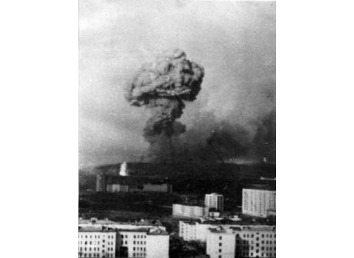 Severomorsk, l'esplosione del 13 maggio 1984
