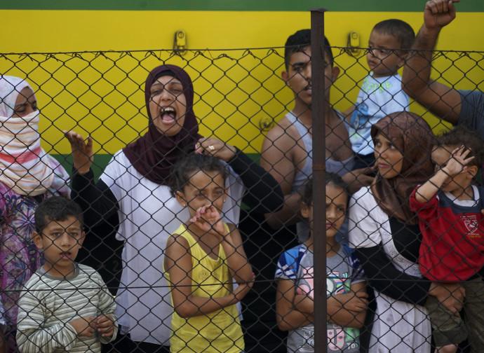 Donne siriane fra i rifugiati
