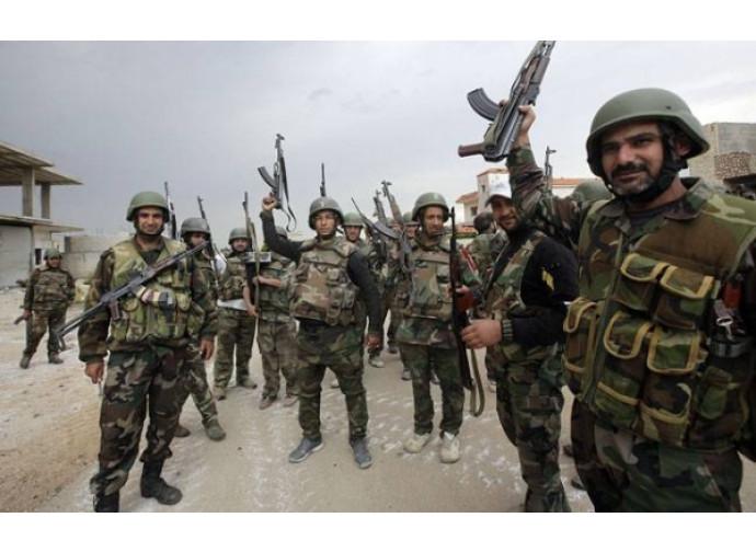 Truppe regolari siriane