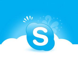 Skype e le emoticons arcobaleno