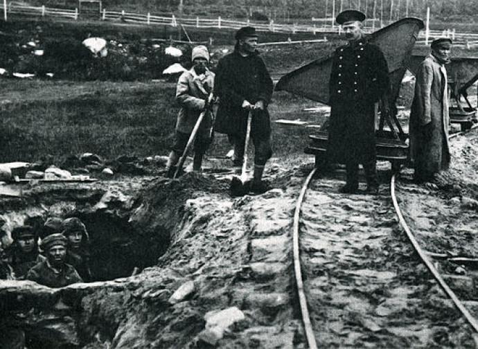 Prigionieri ai lavori forzati nelle Solovki