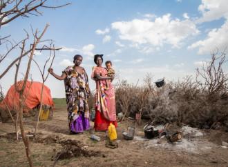 In Somalia aumentano gli sfollati in fuga dalla siccità